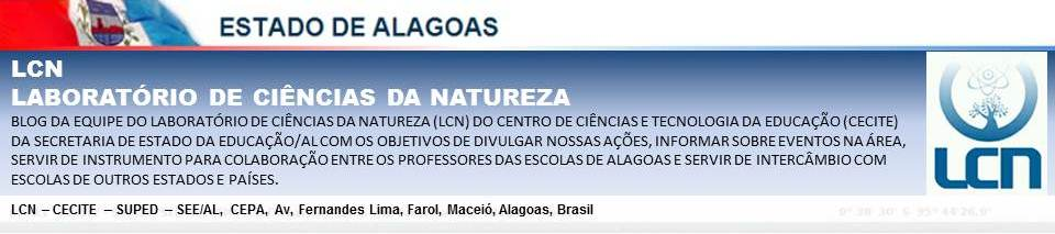 CINCIAS DA NATUREZA - AL