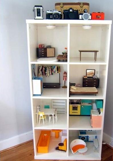Una cosa piccola casa di bambola for Come costruire una piccola casa a buon mercato