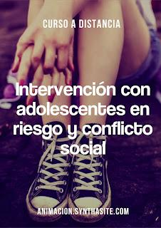 imagen cursos intervencion con adolescentes en riesgo y conflicto social