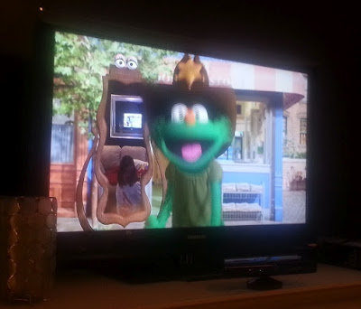 Magic Mirror, Kinect, Sesame Street, TV, XBox