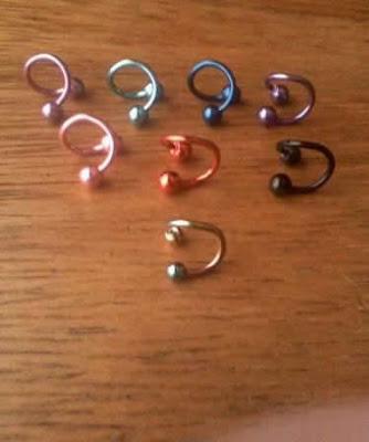 Modelos de joias para Piercing no Umbigo Falso de Pressão