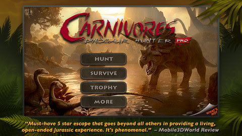 Carnivores: Dinosaur Hunter Pro v1.4.5