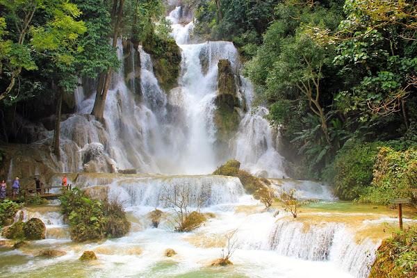Cataratas Kuang Si en Luang Prabang