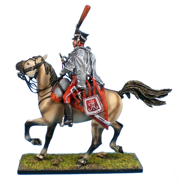 Project Leipzig (1813): Painting time: Russian Hussars