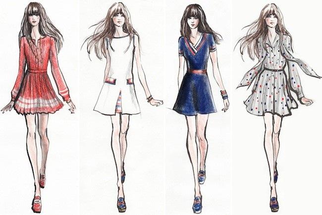 Life dise o de moda for Dibujos de disenos de moda