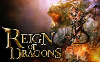 Screenshots of the Reign of Dragons Build Battle for Android tablet, phone.