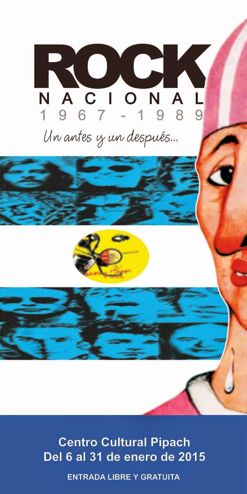 Muestra: Rock Nacional 1967 - 1989 Un antes y un después...