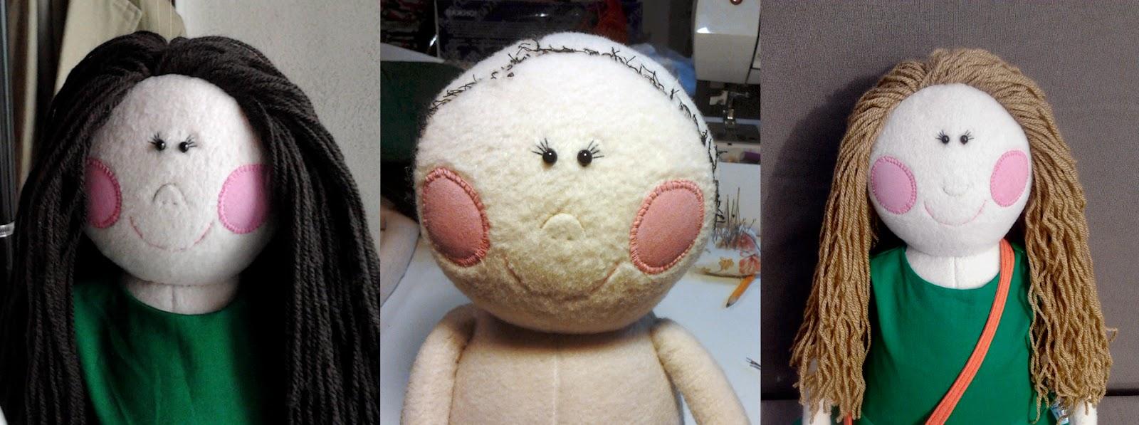 Прическа кукле