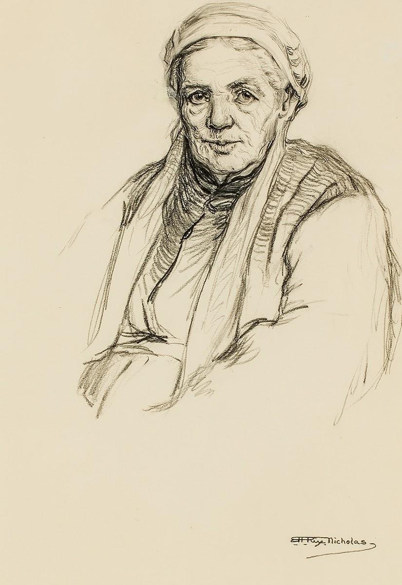 Hilda Rix Nicholas Tutt Art