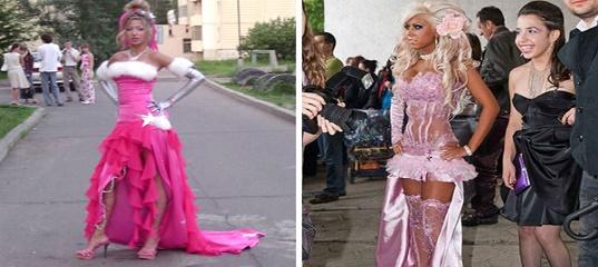 Фото неудачных платьев на выпускной