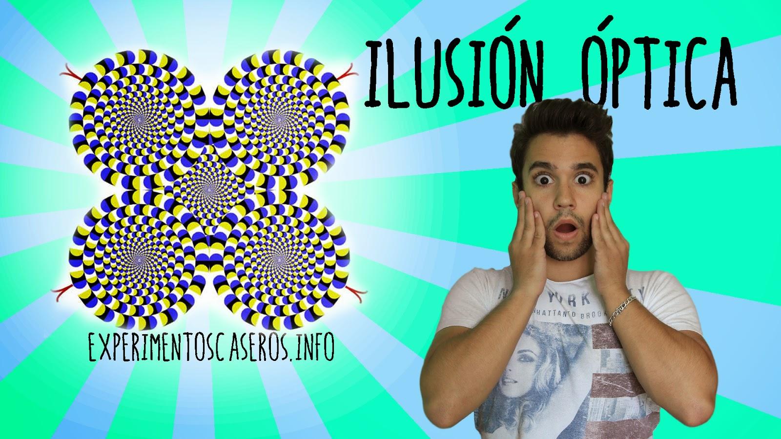 Ilusión óptica impresionante de movimiento, ilusiones ópticas, ilusión óptica, experimentos caseros, experimentos sencillos, experimentos fáciles, experimentos sencillos, experimentos de física, experimentos para niños