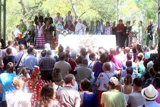 Misa rociera en La Grajera