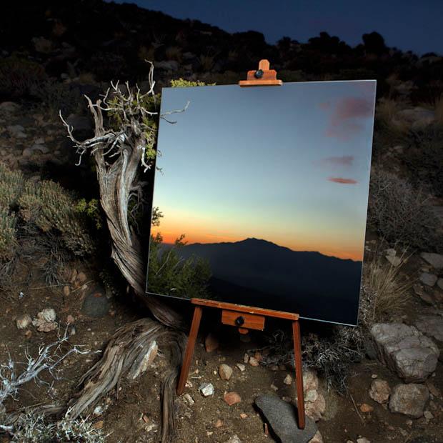 6 Gambar Yang Dilukis Seperti Cermin