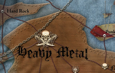 Mapa del Heavy Metal