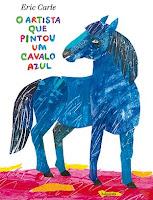 O artista que pintou um cavalo azul