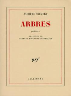 Arbres, Prévert, Gallimard