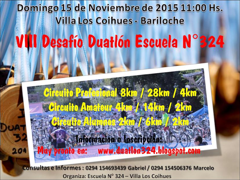 DUATLON ESCUELA 324 VILLA LOS COIHUES
