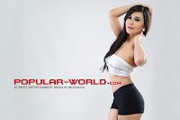 hot Foto Anindita Putri di Majalah Popular World
