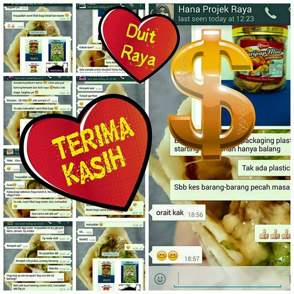Iklan : Agen Kuih Raya & Kerepek :)