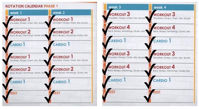 Jillian Michaels Body Revolution CalendarJillian Michaels Body Revolution Workout Schedule Printable
