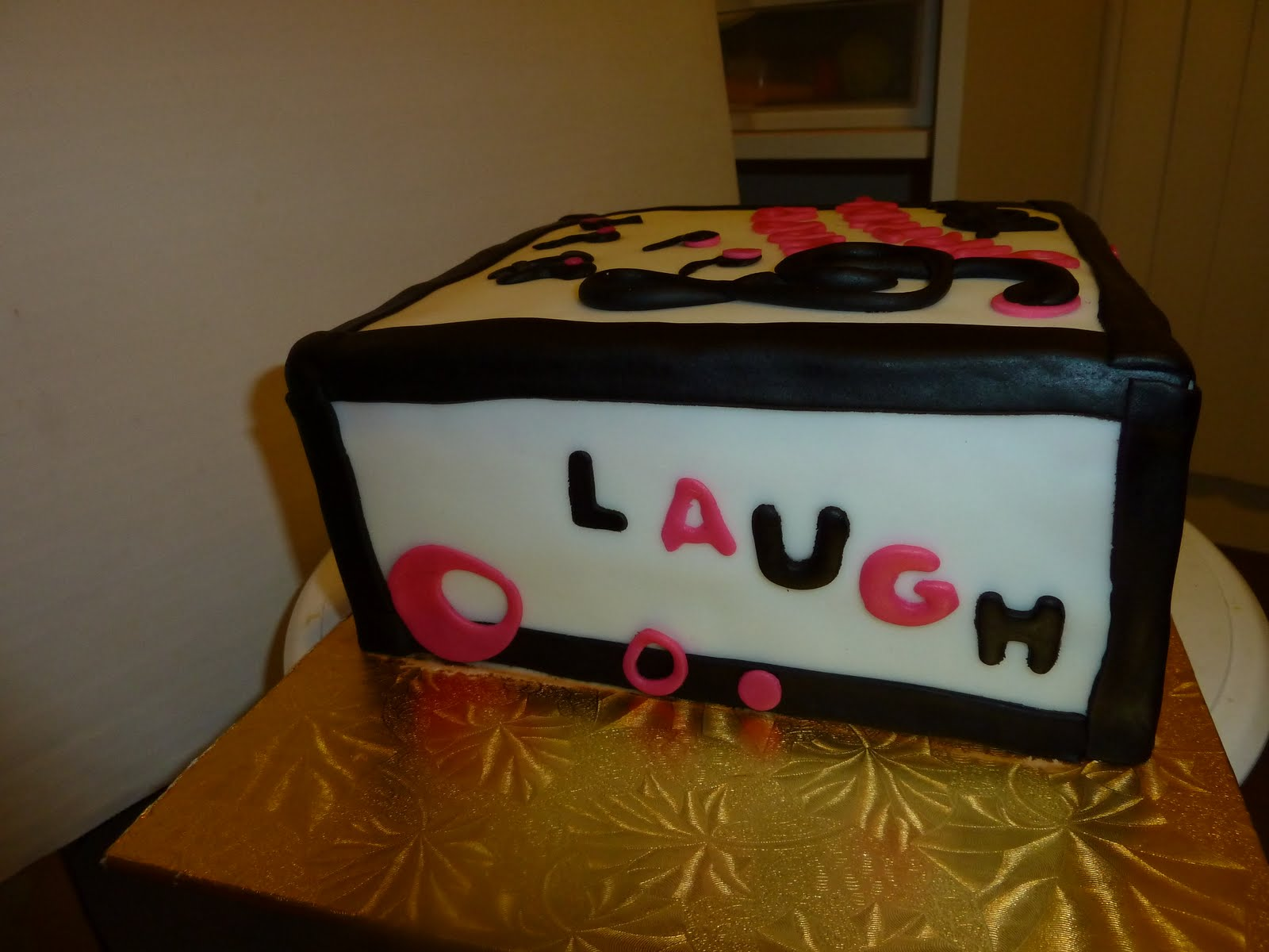 Birthday Cake Live Images ~ Diana s cakes birthday cake live love laugh