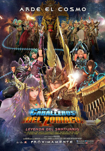 Saint Seiya: Legend Of Sanctuary (BRRip 720p Dual Latino / Japones) (2014)