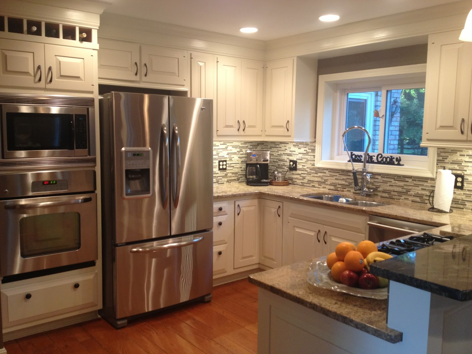 Four seasons style the new kitchen remodel on a budget for Small kitchen remodel pictures