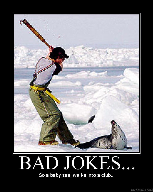 Very bad jokes on the street ~ NewsLoco.com   Funny, weird, gossip