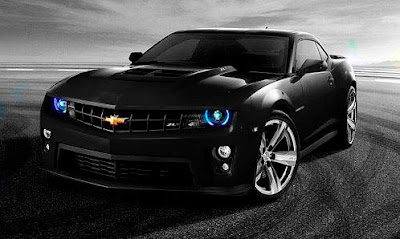 2012 Chevrolet Camaro ZL1 Black Color