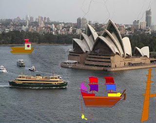 ANIMATED SHIPS