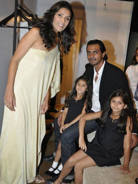 ... Daughters Mahikaa Rampal & Myra Rampal (Bollywood Actor Arjun Rampal