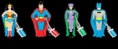 Super Heroes USB drive