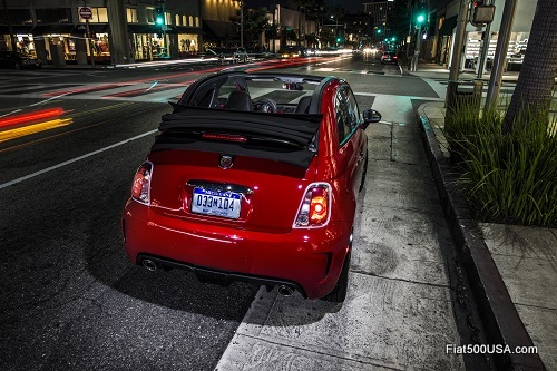 New Fiat 500 Abarth Cabrio