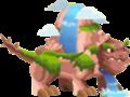 dragon cascada adolecente