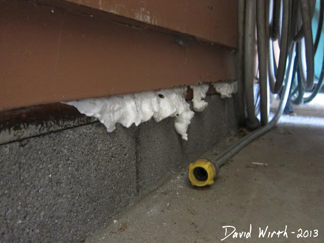 black mold insulation, discentegrate, fall apart, heat loss