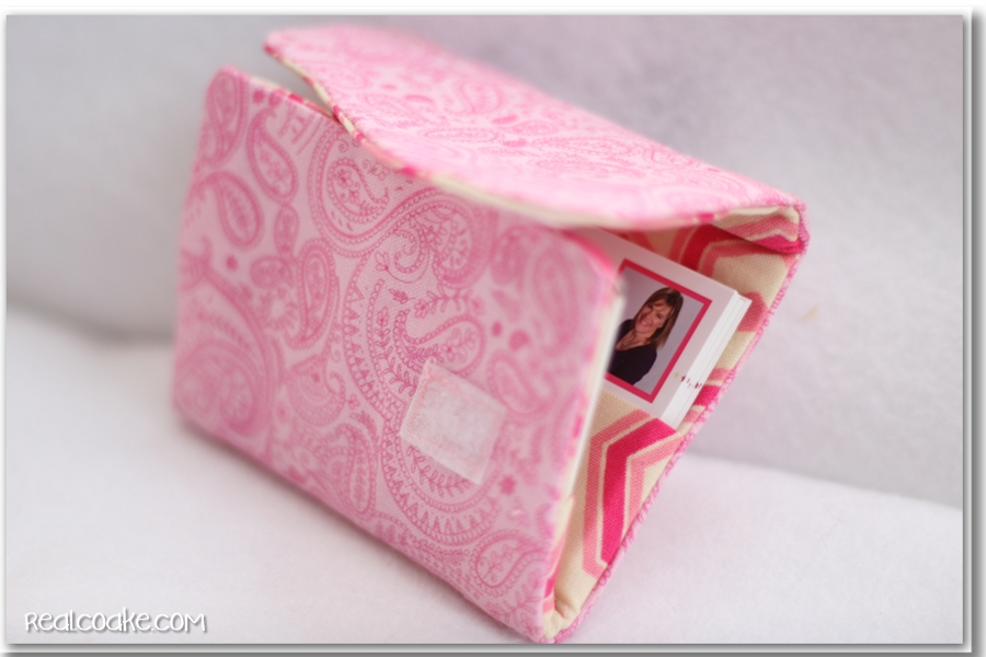 My Blog Becomes Official ~ Or Making a Business Card Holder - The ...