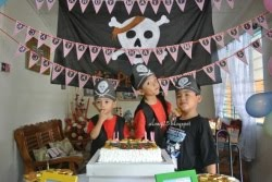 Pirates Birthday Party 2012