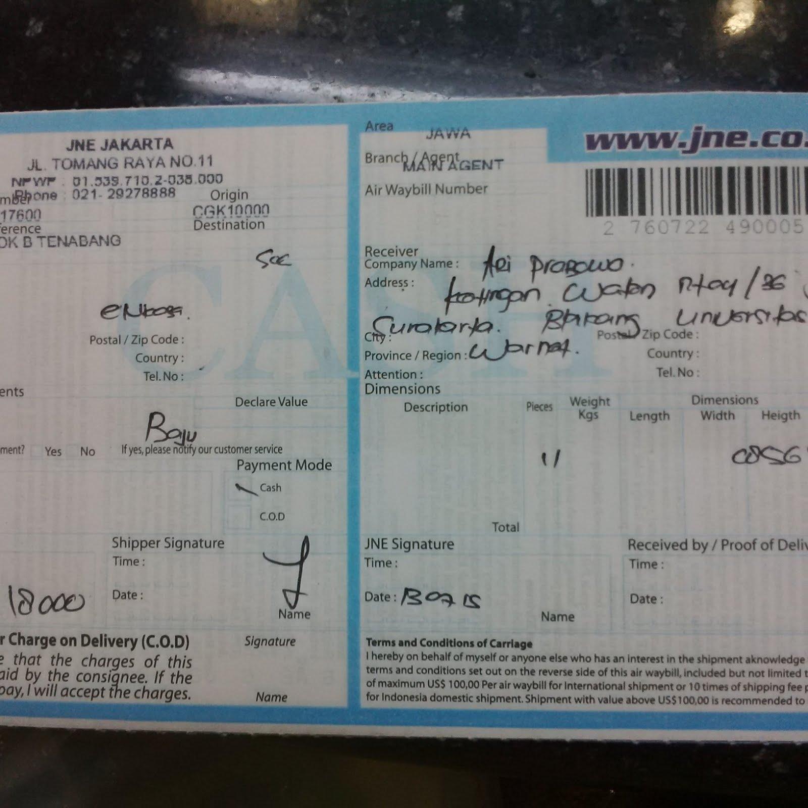 Nomer Resi Ari prabowo Kentingan Wetan rt 04 rw 36 Jebres Surakarta Belakang Universitas Sebelas Maret