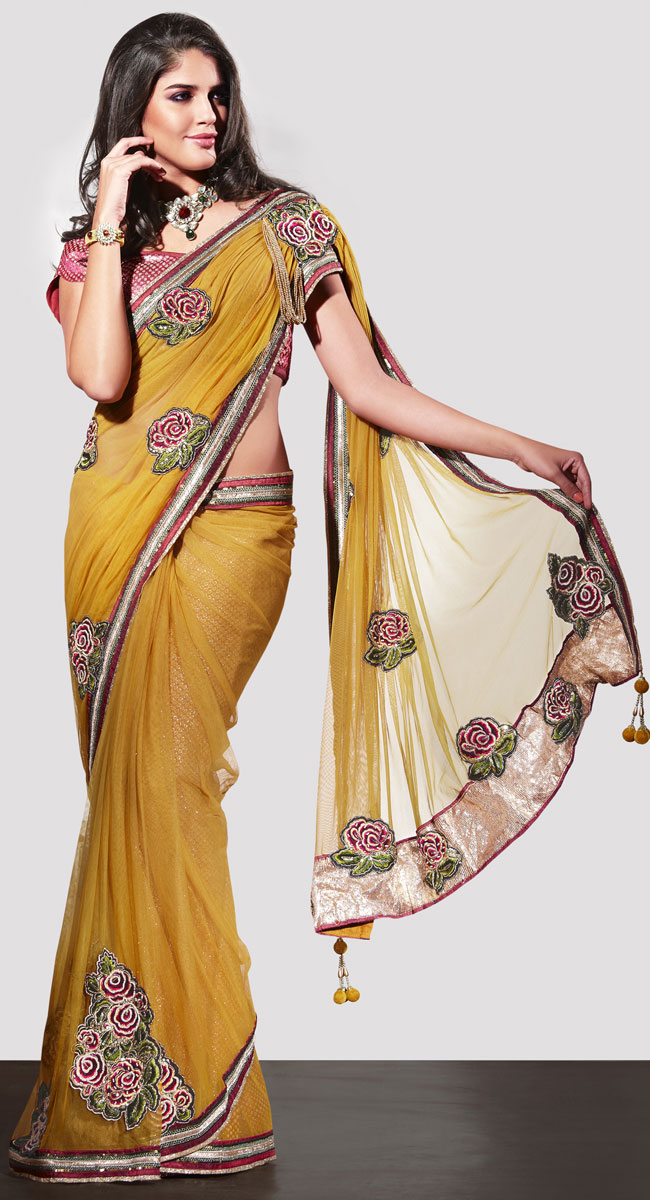 Different Types Of Party Wear Sarees 70