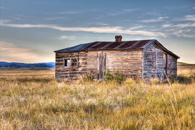 Home on the Range Buffalo Gap by Dakota Visions Photography LLC Black Hills HDR Old Abadoned Buildings Farmstead