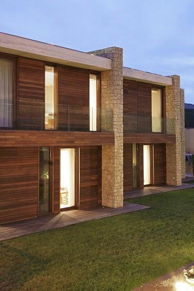 Fachadas de casas modernas fachadas de casas modernas en for Fachadas de casas de madera