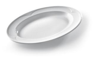 Platou Oval Saturn, Vesela Portelan, Pret, Serviciu de Masa, Portelan Alb, Vesela Restaurant, Set Portelan, Horeca
