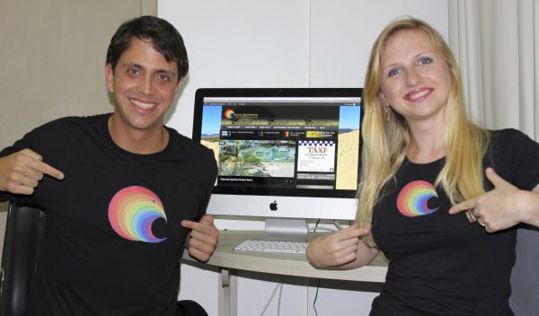 Os idealizadores do projeto Gianfranco Morbini e Svetlana Morbini (Foto: Divulgação)