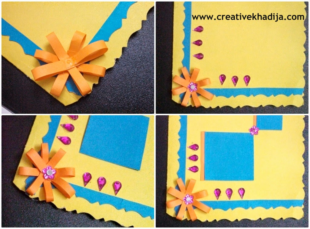 Card making paper flower tutorial for 3d christmas cards to make at home