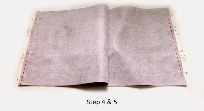 Three fabrics, ten steps, one lined tote bag tutorial -- plus a giveaway! | The Inspired Wren