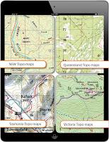 IPad Navigation Australien, Tracks 4x4 Offroad und Strasse