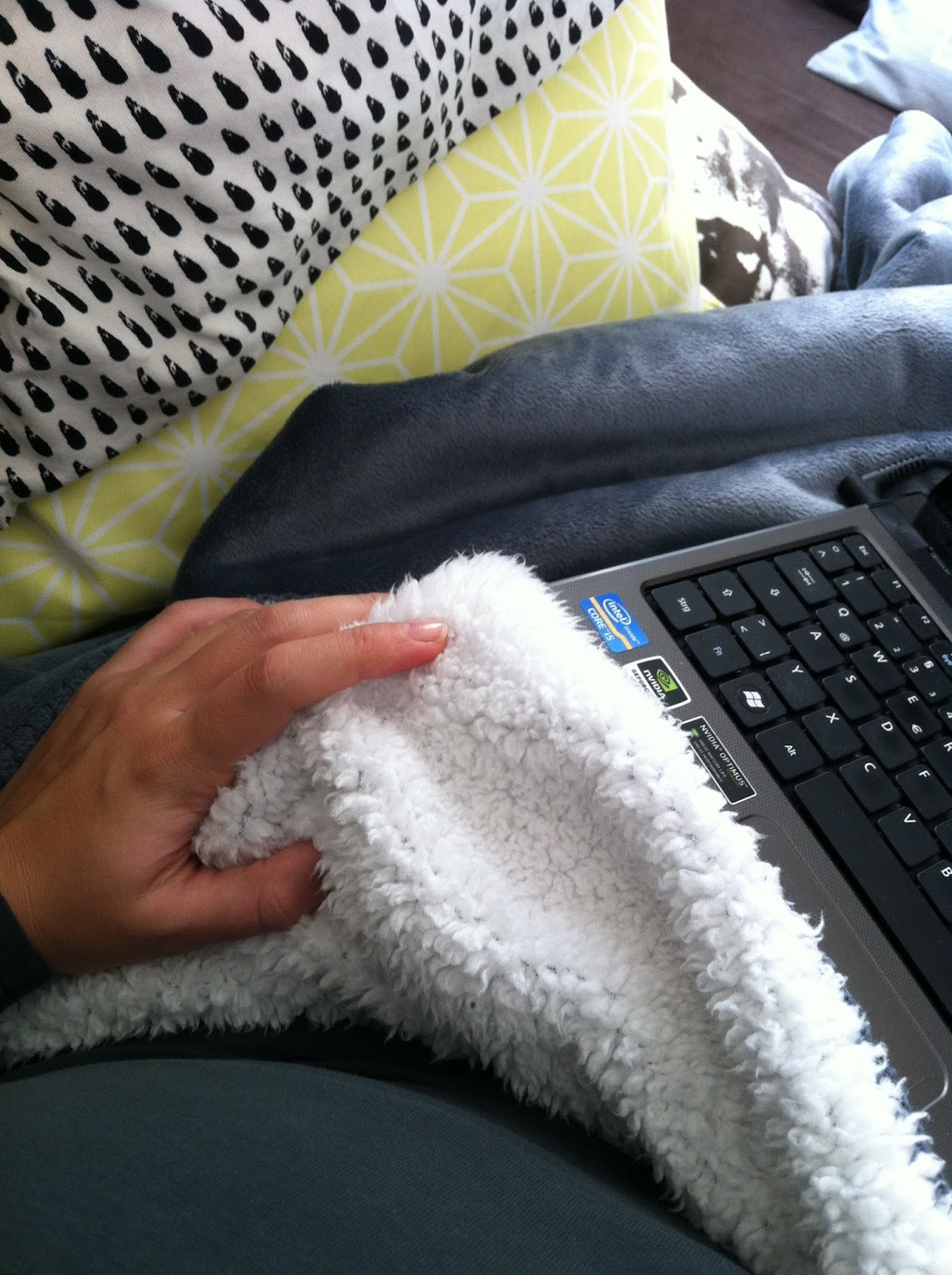 Bloggen auf der Couch