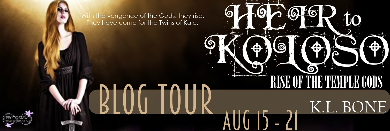 Heir to Kolos Rise of the Temple God's Blog Tour
