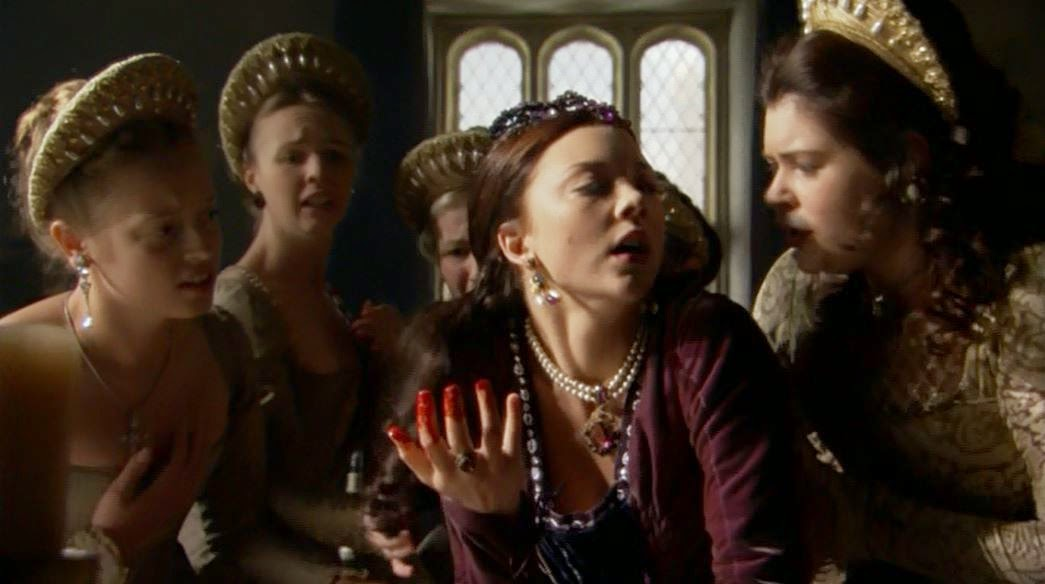 Anne Boleyn miscarries