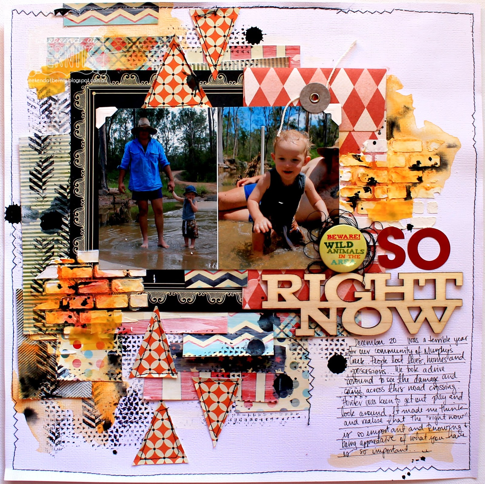 So right now layout - By Bernii Miller